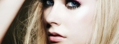 girl, Girl, Hair, Eyes, Mood, Posture, Face, Cute, Sexy, Avril Lavigne, Lav ...