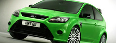 car, ford, focus, green