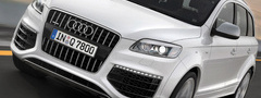 audi q7 v12 tdi quattro, ������, ������, ��������, car, road, speed