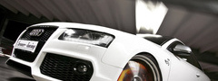 audi s5 white, senner tuning, ������, ��������, car, speed