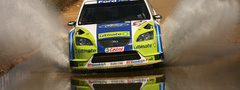 wrc, rally, ford focus, ����, ������