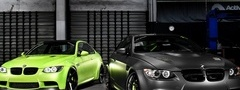bmw, m3, cars, green, black