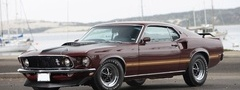 1969, Ford, Mustang, Mach 1