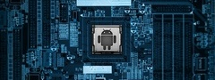 android, motherboard, андроид, материнская, плата, синий