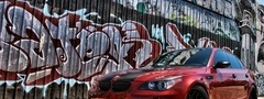 BMW M563, car, graffiti, fashion