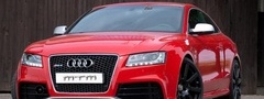 Audi, RS5, red