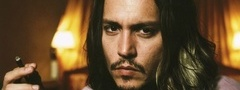 johnny depp, ������ ����, actor, �����, cigar, ������