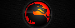 Mortal, kombat, logo, wide
