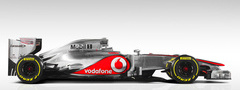 F1 McLaren Mercedes-Benz MP4-27 \'2012