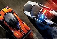 Need for Speed, pagani, zonda, lamborghini, police, racer