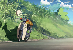Makoto Shinkai, motor scooter, 5 centimeters per second