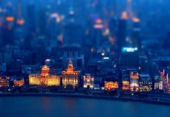 ����, �����, ����, ������, ���������, �����, China, ������, Shanghai, ����- ����, tilt-shift