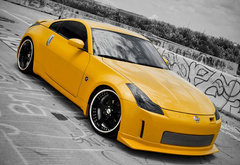nissan, 350z, ���� ����, �����, ������, �����, cars, auto wallpapers