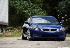 honda, accord, on, vossen wheels
