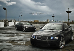 bmw m3, 360 forged, черная м3