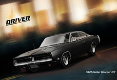 game, driver, dodge, charder, 1969