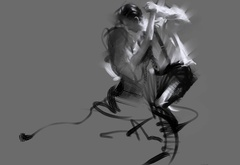 drawing, dancing, figure