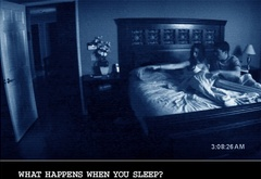 paranormal activity, movie, creepy