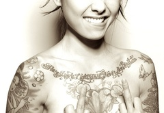 sexy, beauty, girl, tattoo, fashion, levy tran