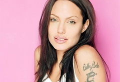 angelina jolie, beauty, actress, tattoo, fashion