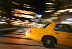 taxi, speed, lights