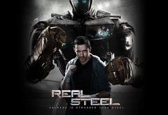 Real Steel, Hugh Jackman, Живая сталь, Хью Джекман