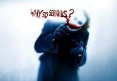 Joker, why you so serious, wallpaper