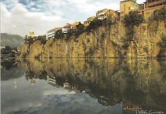 georgia, tbilisi, mtkvari, river, ����, ����, metekhi, church, �������