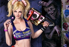 Lollipop Chainsaw,зомби