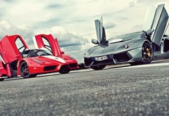 Ferrari and Lamborghini